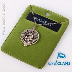 Ramsay Clan Crest Pendant. Free worldwide shipping available