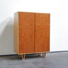 Cees Braakman; Birch Cabinet for Pastoe, 1950s.