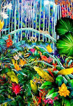 Midnight Jungle - Kate Morgan - Artist