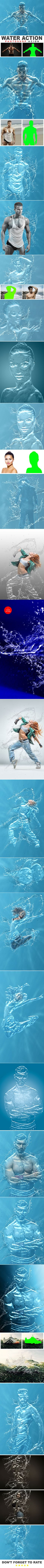 Water Photoshop Action