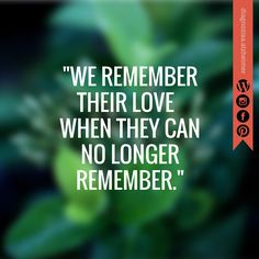 Alzheimer - Quotes.