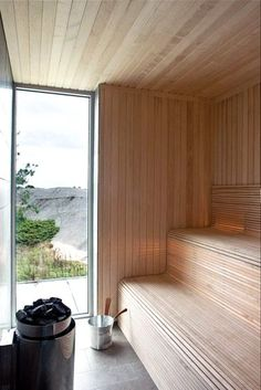 Sauna Steam Room, Sauna Room, Saunas, Sauna Wellness, Sauna House, Portable Sauna, Outdoor Sauna, Sauna Design, Architecture Design
