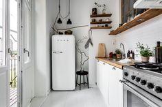 Malé biele kuchyne- 15 krásnych inšpirácií