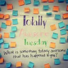 """""""It was Totally Awesome Tuesday in our classroom today! Something totally awesome that happened to me was I was on the cover of the National Softball…"""""""