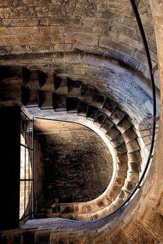 Porta Soprana: the two towers – Genoa, Italy