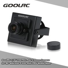 GoolRC 1/3 700TVL PAL 3.6mm Mini Camera for RC QAV250 F330 mini FPV Quadcopter