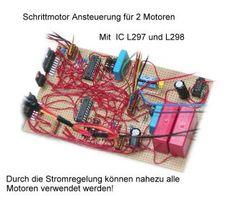 Schrittmotoren, Roboter und Elektronik