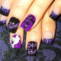 Purple Rain by Oli123 from Nail Art Gallery