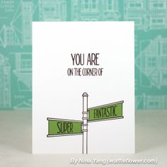 On the Corner - Neat & Tangled Stamps