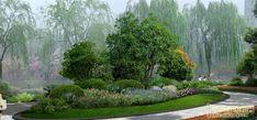 植物组团分析图(14张)_植物图片_千千花图片网