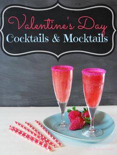 Cocktails & Mocktails for Valentine's Day