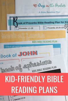 The Bible 686024955722649606 - How to Get a Child Who Doesn't Like to Read Excited About the Bible (with kid-friendly Bible reading plans!) – The Purposeful Mom Source by faithplusfamily Family Bible Study, Bible Study Plans, Bible Plan, Bible Study For Kids, Bible Lessons For Kids, Kids Bible, Bible Verses For Kids, Bible Scriptures, Book Of Ephesians