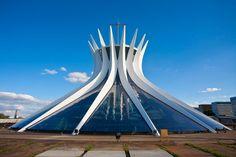 CATHEDRAL OF BRASILIA   BRASILIA, BRAZIL : Architectural Digest    Photo: Jane Sweeney
