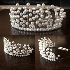 Image gallery – Page 394416879859026876 – Artofit Handmade Hair Accessories, Wedding Hair Accessories, Handmade Jewelry, Hair Jewelry, Beaded Jewelry, Diy Crown, Hair Beads, Tiaras And Crowns, Bridal Headpieces