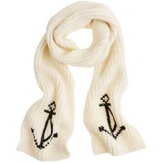 Anchor Scarf ($98) ❤ liked on Polyvore