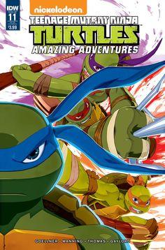 Batman / Teenage Mutant Ninja Turtles #11