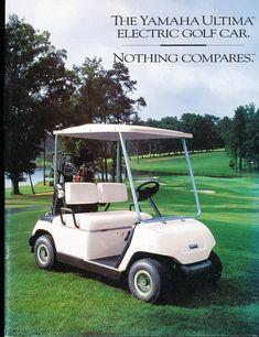 1995 1996 Yamaha Ultima Golf Car 18-page Original Sales Brochure Catalog - Cart | eBay Yamaha Golf Carts, Vintage Golf, Catalog, The Originals, Ebay, Classic Golf