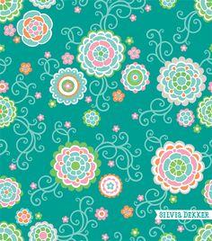 Spring floral pattern by Silvia Dekker