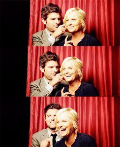 the BEST couple on TV hands down. leslie and ben foreverrrrrrr! #parksandrec
