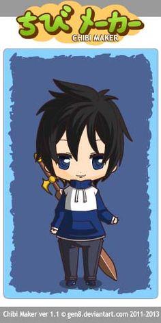 Saito Hiraga (Zero noTsukaima) Chibi Maker