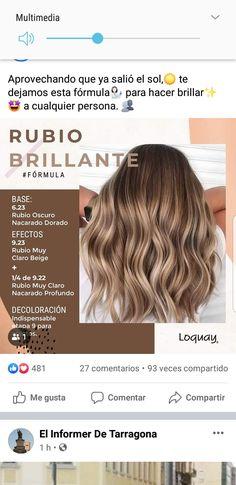 Curly Hair Tips, Curly Hair Styles, Warm Blonde, Beach Hair, Love Hair, About Hair, Hair Hacks, Hair Care, Hair Color