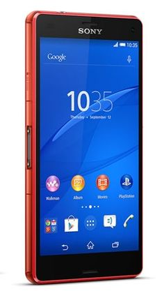 Sony Xperia Z3 Compact Android Marshmallow smartphone. Features 4G LTE, 4.6 inches, 20.7 MP camera, Water proof, Shatter proof and scratch-resistant glass.