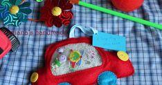 """Всем чудесного дня! Представляю вашему вниманию мою маленькую вытворюшку) - развивающая игрушка """"Искалка"""" или """"I Spy Bag"""". Суть игры """"Искал... Spy Bag, I Spy, Butterflies, Coin Purse, 3d, Handmade, Bags, Handbags, Hand Made"""