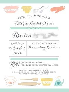 9c127391b880098d2355cf0e4e3a191b kitchen bridal showers kitchen shower kitchen bridal shower invitation printable file 5 x 7 and,Kitchen Theme Invitations