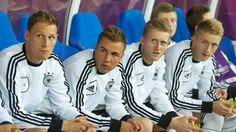 """German internationals Marco Reus and Mario Gotze ready to respond to requests Joachim Lev if their coach a chance to be pointed in the final tournament.Marco Reus is shining in the uniform of Borussia Moenchengladbach in the previous season by scoring 21 points in 37 competitive matches.""""I still have not got a chance to play which is d"""