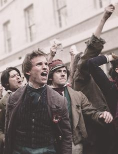 "Les Miserables <3   ""Do you hear the people sing?Singing the songs of angry men....."""