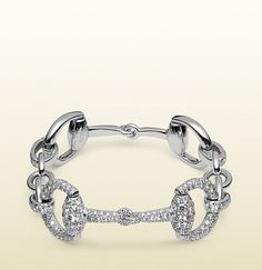 Crazy for this!!n Gucci horsebit diamond bracelet.