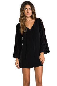 VAVA by Joy Han Elena Bell Sleeve Dress in Black from REVOLVEclothing