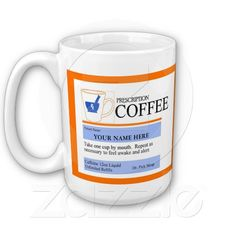 custom #prescription #coffee #mug