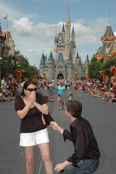 WDW Proposal: Andreah + Brian | Magical Day Weddings | A Wedding Atlas Fan Site for Disney Weddings
