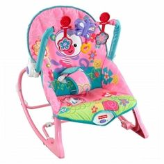 Fisher-Price Girls' Infant-to-Toddler Rocker (C610-9993) http://www.giftgallore.com/product/89904_m/153_/Fisher-Price-Girls'-Infant-to-Toddler-Rocker-5284089904M.html