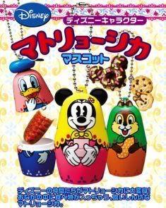 Disney Gashapon capsule toys from Japan