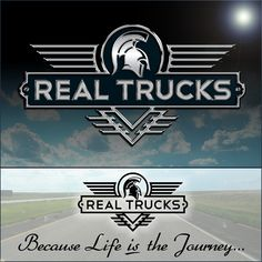 This is the Creative Hat Logo Design Concept for Real Trucks