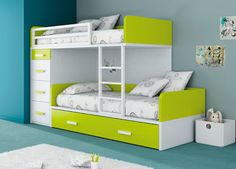 All the featured bunk-beds are strong, durable and safe yet they also have modern designs which make them a perfect addition to any kid's room in