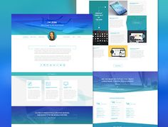Minimal iShow PSD Template is a personal portfolio web design created and given  by Jenn Pereira.