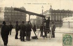 L'ECLIPSE de SOLEIL du 17 avril 1912. Il y a 105 ans, alors que le Titanic venait de sombrer, c'est un autre évènement qui bouleversa le quotidien des habitants de Paris. En effet, ce jour-là, à 12h10, par une très belle journée de printemps, 2 millions de parisiens observèrent une éclipse solaire presque totale… John d'orbigny Immobilier, Facebook