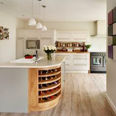 Nordic tulipwood kitchen | Traditional kitchen decorating ideas | Beautiful Kitchens | Housetohome.co.uk