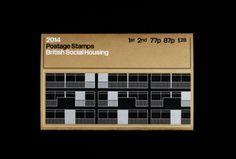 Laura C. Meyer / British Social Housing / Stamp / 2014