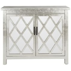 Chic Scandinavian. The two-door chest was designed to pair elegant European style with the fresh, relaxed look of Swedish country antiques. Crafted of fir...