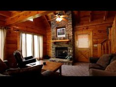 2 Bedroom Log Cabin Rental Close To Pigeon Forge   Blackberry Ridge