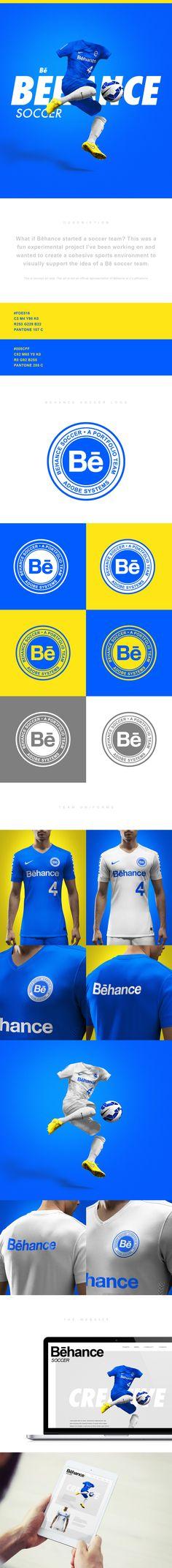 Bēhance Soccer Team on Behance