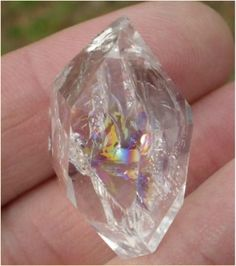 Astral travel and connecting with spirit guides using the Herkimer Diamond.