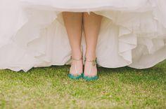 Walk down the aisle in teal vintage wedding heels Wedding Heels, Green Wedding Shoes, Wedding Blog, Diy Wedding, Wedding Stuff, Alternative Wedding Shoes, Teal Heels, Wedding Photography Tips, Green Shoes