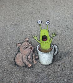 David Zinn in USA, 2020