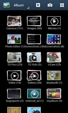 How To Use Gallery On Samsung Galaxy Note 2 - P^i  The Gallery is where you view photos and play back videos on Samsung Galaxy Note 2. For photos, you can also perform basic editing tasks, view a slideshow, and set photos as wallpaper or caller image, and share as a picture message.