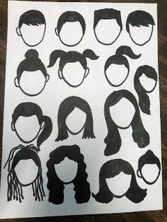 Elements of the Art Room: Wonder Inspired grade Self Portraits, grade art lesson, grade art lesson, elementary art lesson, Primary School Art, Middle School Art, Elementary Art Rooms, Art Lessons Elementary, Self Portrait Art, Pencil Portrait, Wonder Art, Wonder Novel, Art And Craft Videos